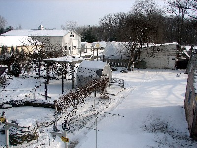 Over view of CWFarm in winter
