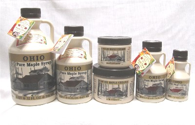 Carousel Watergardens Farm Pure Ohio Maple Syrup and Maple Cream