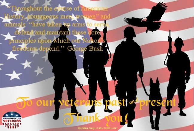 sgnd Thank you- soldiers & dog remember all of them with eagle2