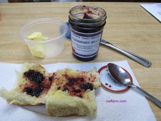 IMG_2144cwffarm Elderberry & butter on roll