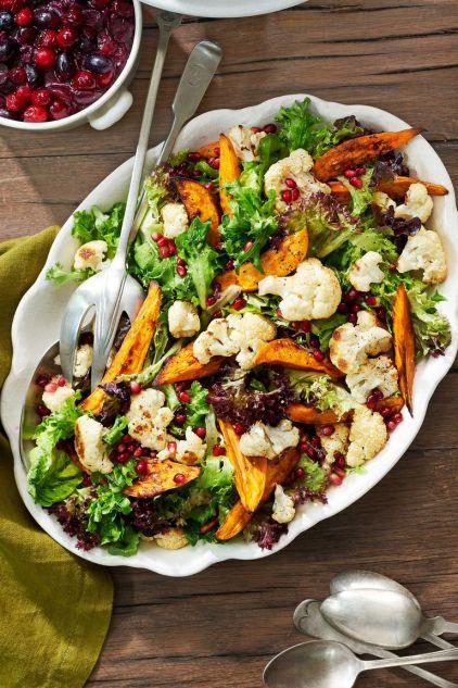 -sweet-pototato cauliflower-salad