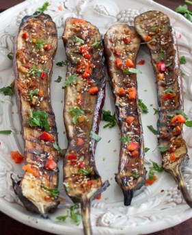grilled Asian Eggplant cropped