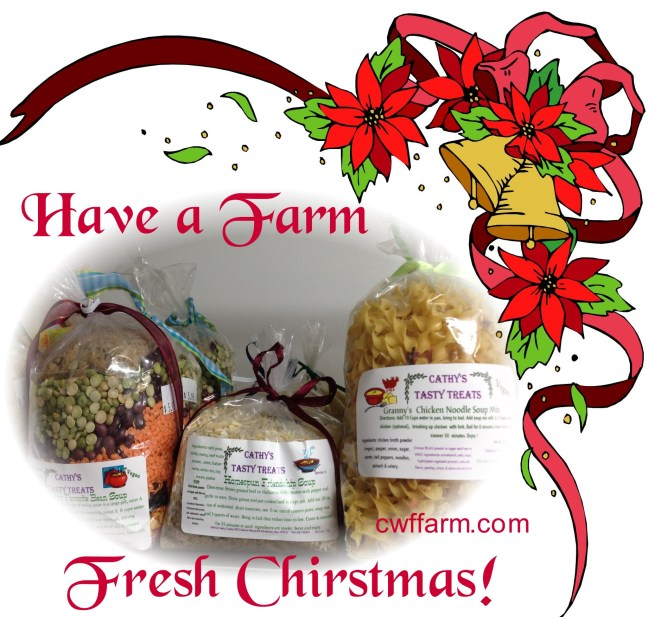 cwffarm soups have a farm fresh Christmas Rght border