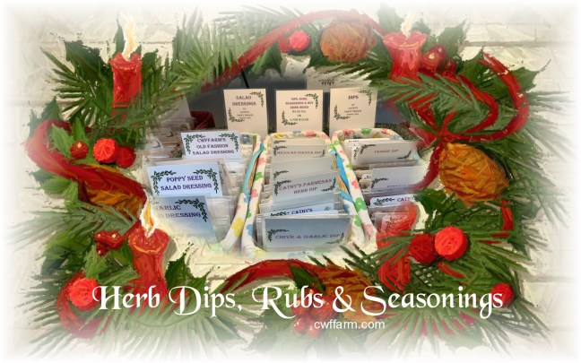 Dips rubs & seasonings on Christmaswreathcolorpencil