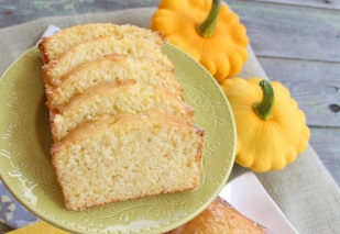 Patty Pan Lemon bread